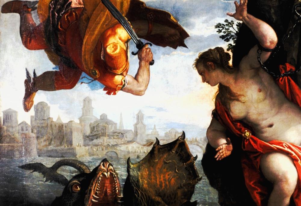 Perseo che salva Andromeda, Paolo Veronese.