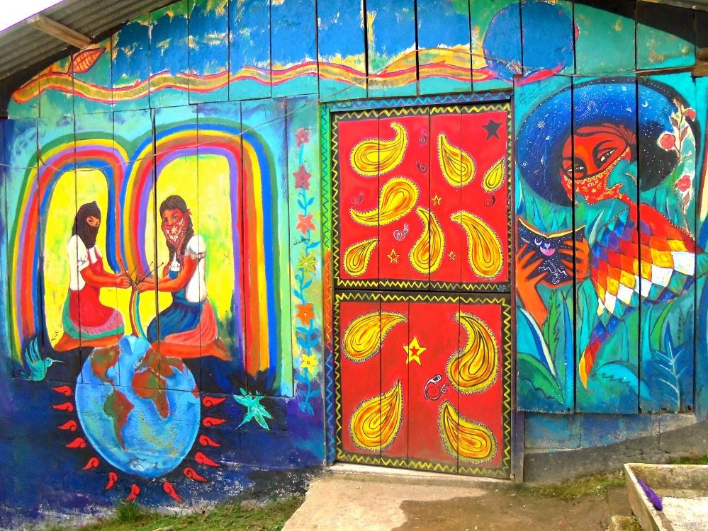 Zapatista-mural